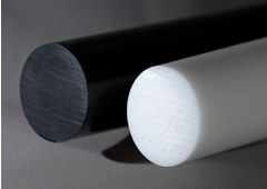 Natural and Black Acetal Rod